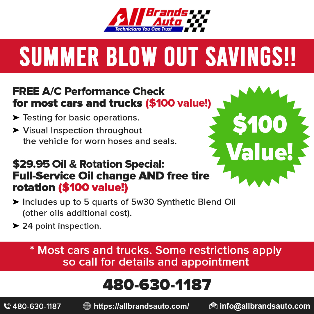 All Brands Auto New Awesome Specials